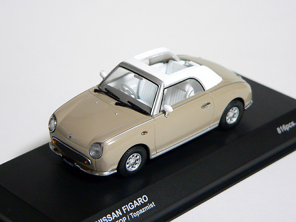 nissan figaro 1 43 diecast model open topaz kyosho sakura internet shop. Black Bedroom Furniture Sets. Home Design Ideas